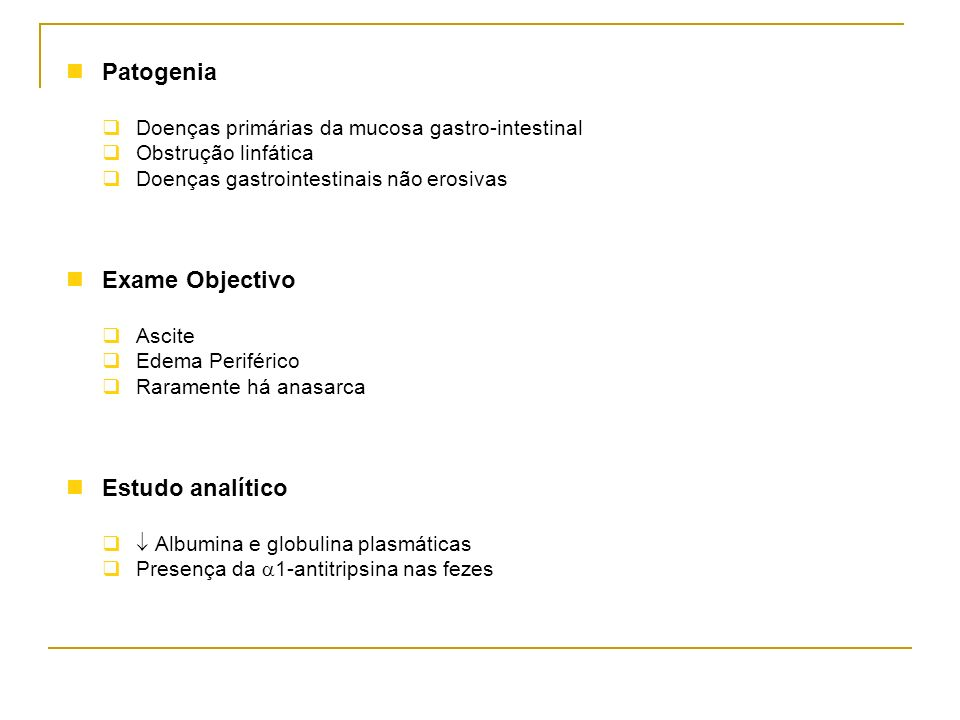 Patogenia Exame Objectivo Estudo analítico