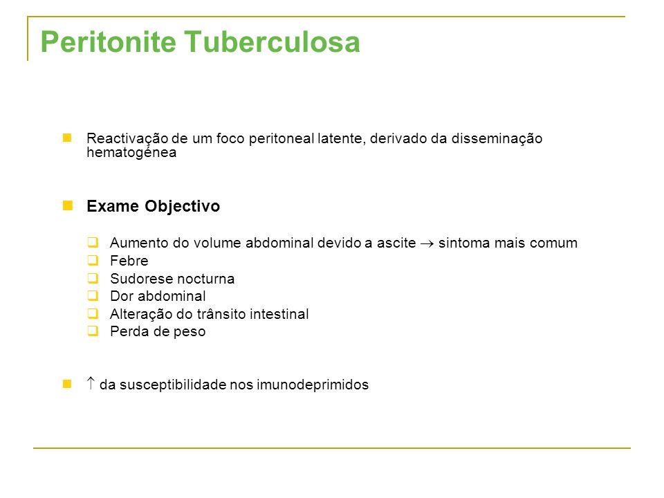 Peritonite Tuberculosa
