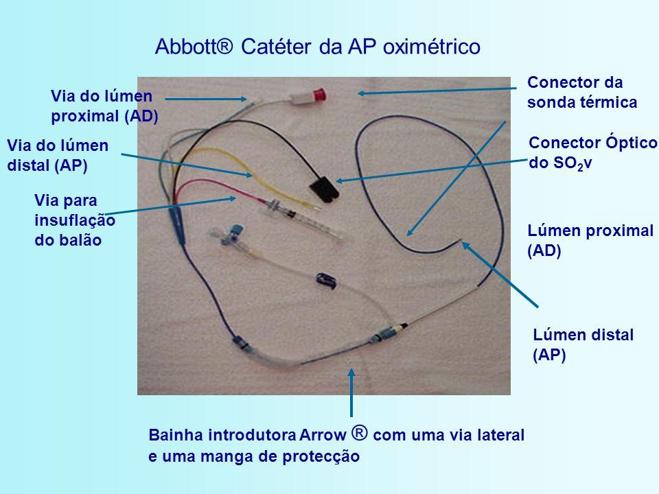 Abbott® Catéter da AP oximétrico