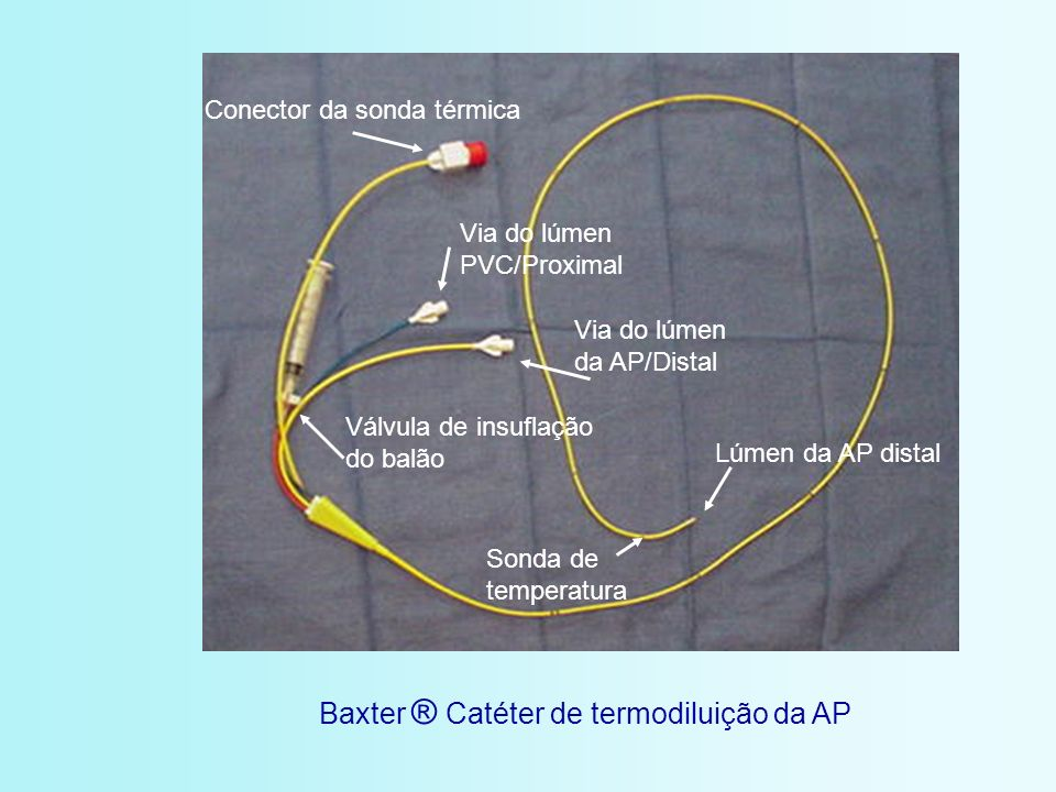 Baxter ® Catéter de termodiluição da AP