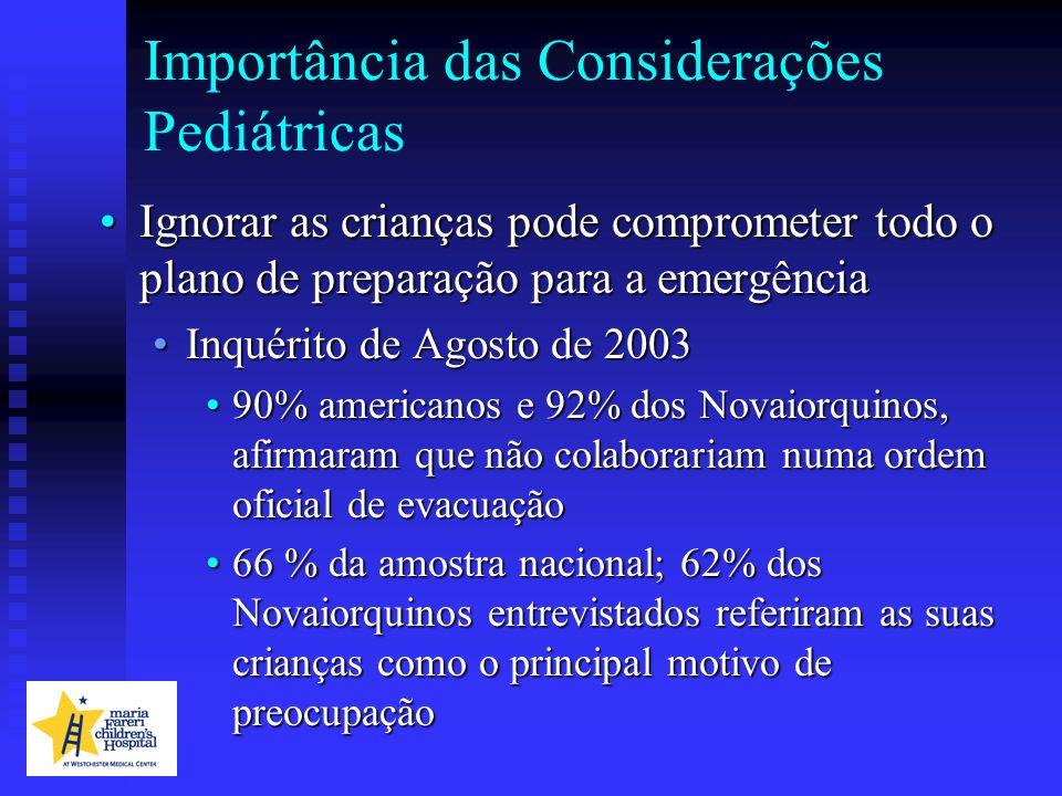Importância das Considerações Pediátricas