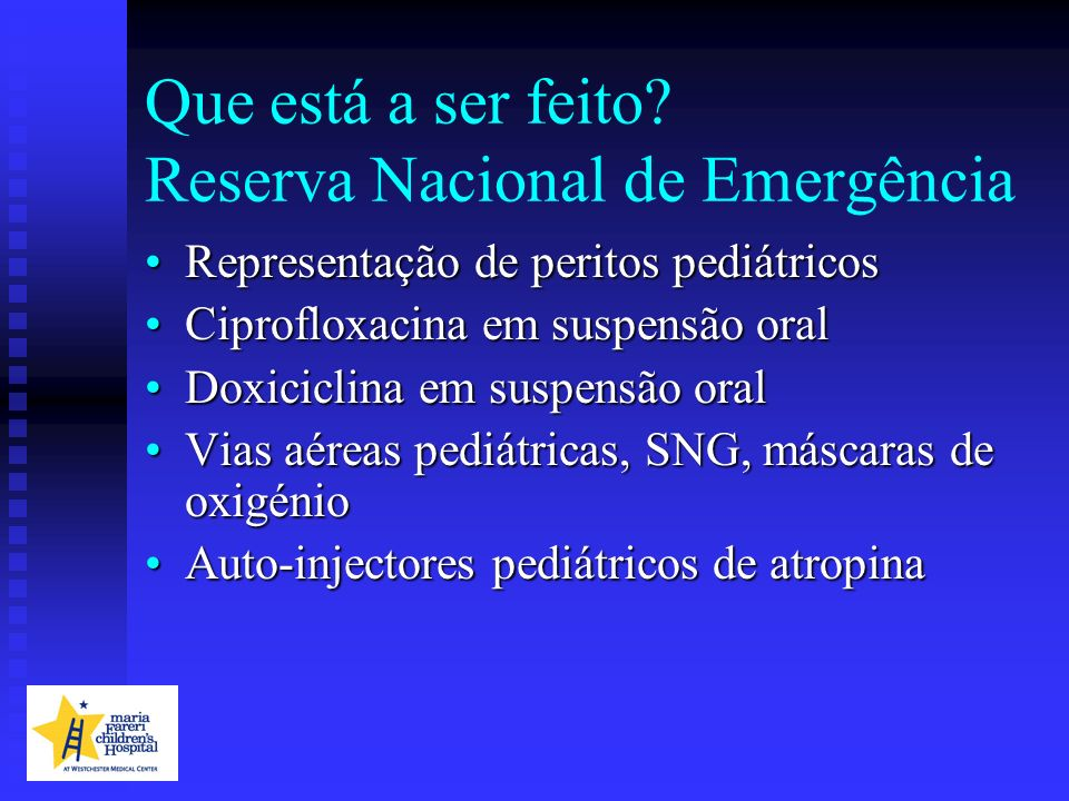 Que está a ser feito Reserva Nacional de Emergência