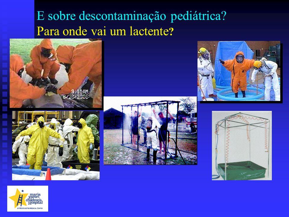 E sobre descontaminação pediátrica Para onde vai um lactente