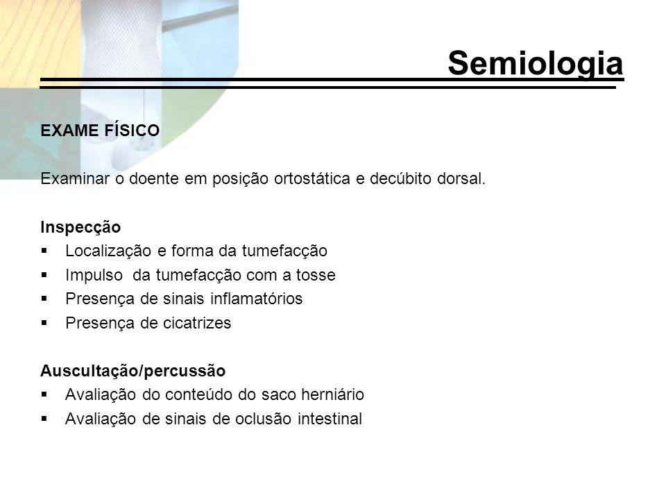 Semiologia EXAME FÍSICO
