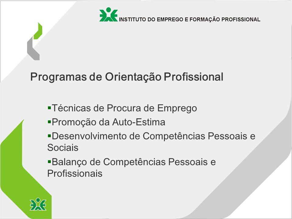 Programas de Orientação Profissional
