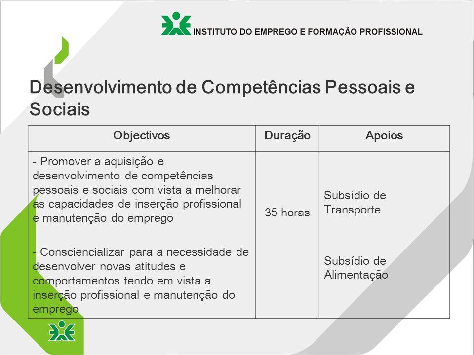 Desenvolvimento de Competências Pessoais e Sociais