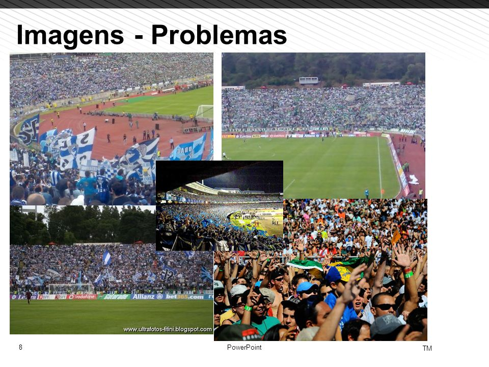 Imagens - Problemas PowerPoint