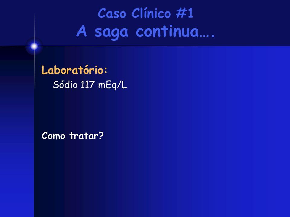 Caso Clínico #1 A saga continua….