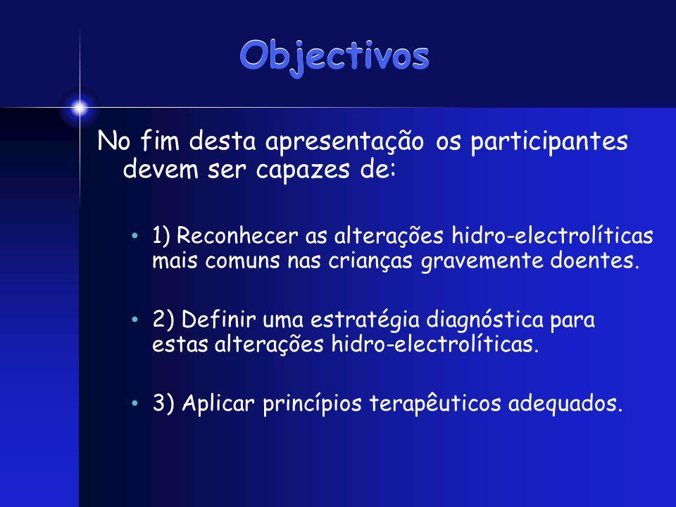Objectivos No fim desta apresentação os participantes devem ser capazes de: