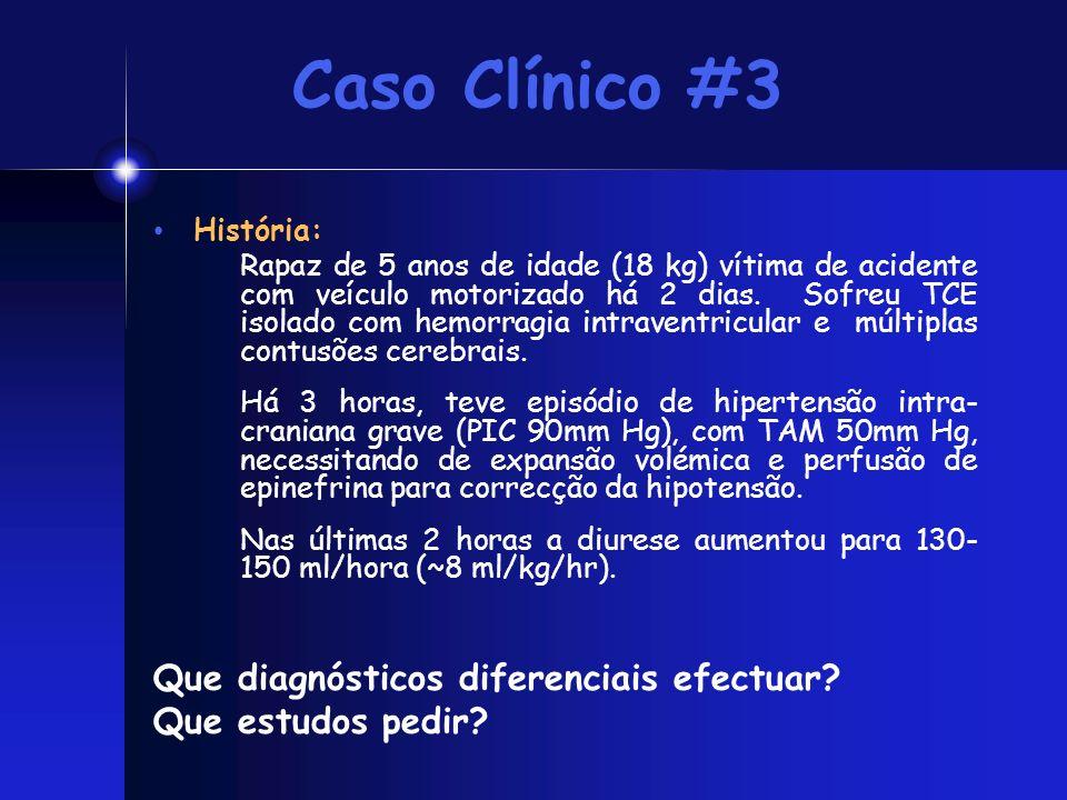 Caso Clínico #3 Que diagnósticos diferenciais efectuar