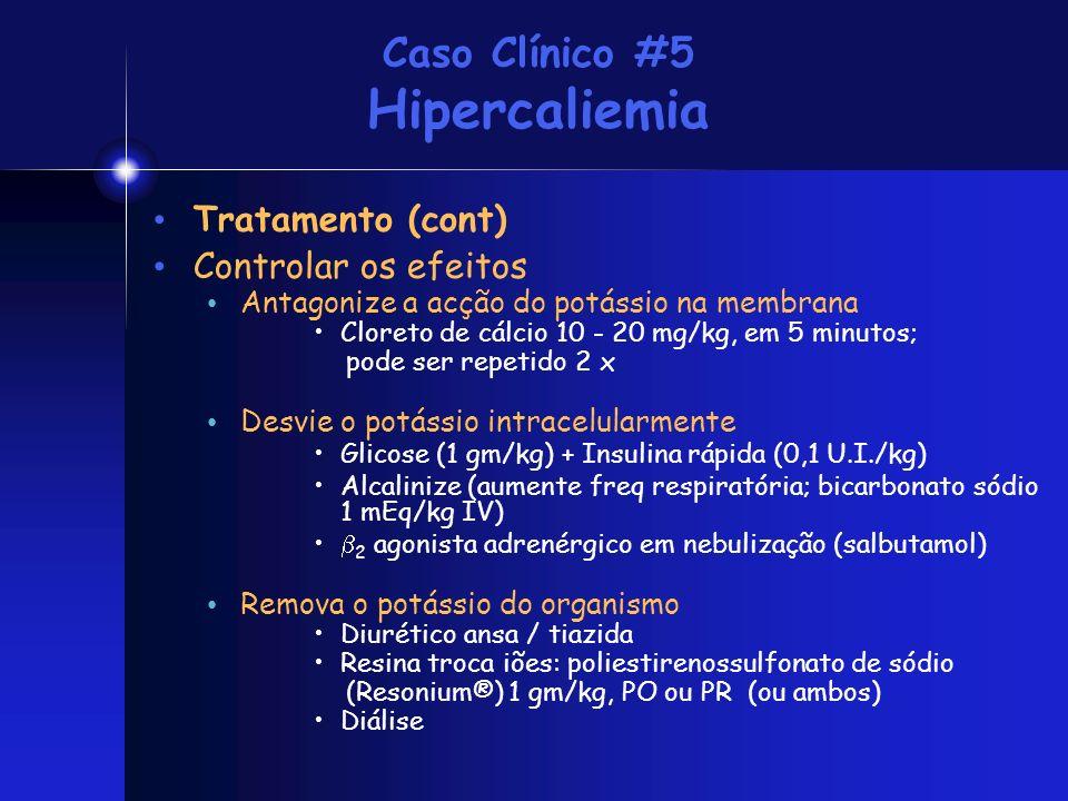 Caso Clínico #5 Hipercaliemia
