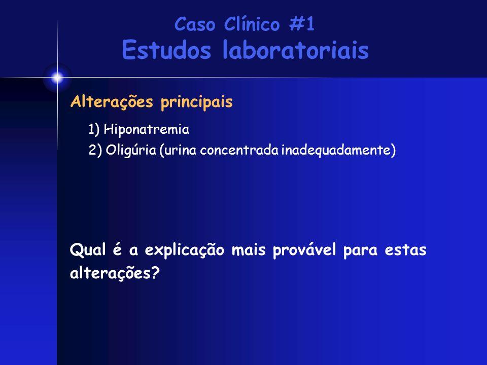 Caso Clínico #1 Estudos laboratoriais