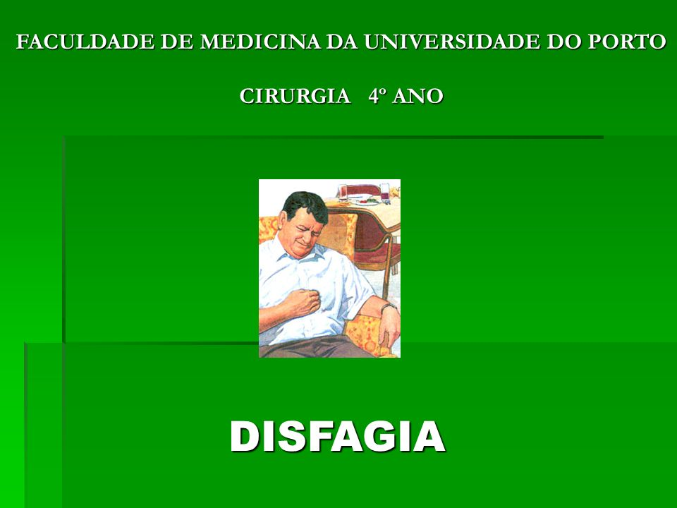 FACULDADE DE MEDICINA DA UNIVERSIDADE DO PORTO