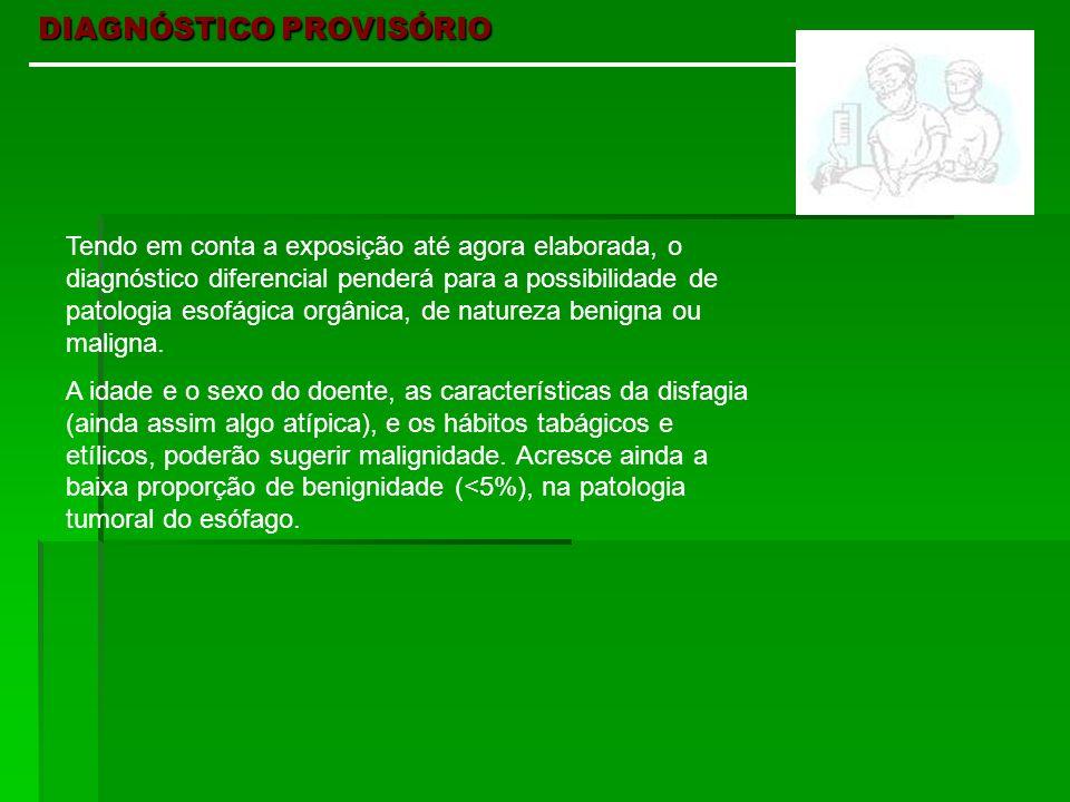 DIAGNÓSTICO PROVISÓRIO