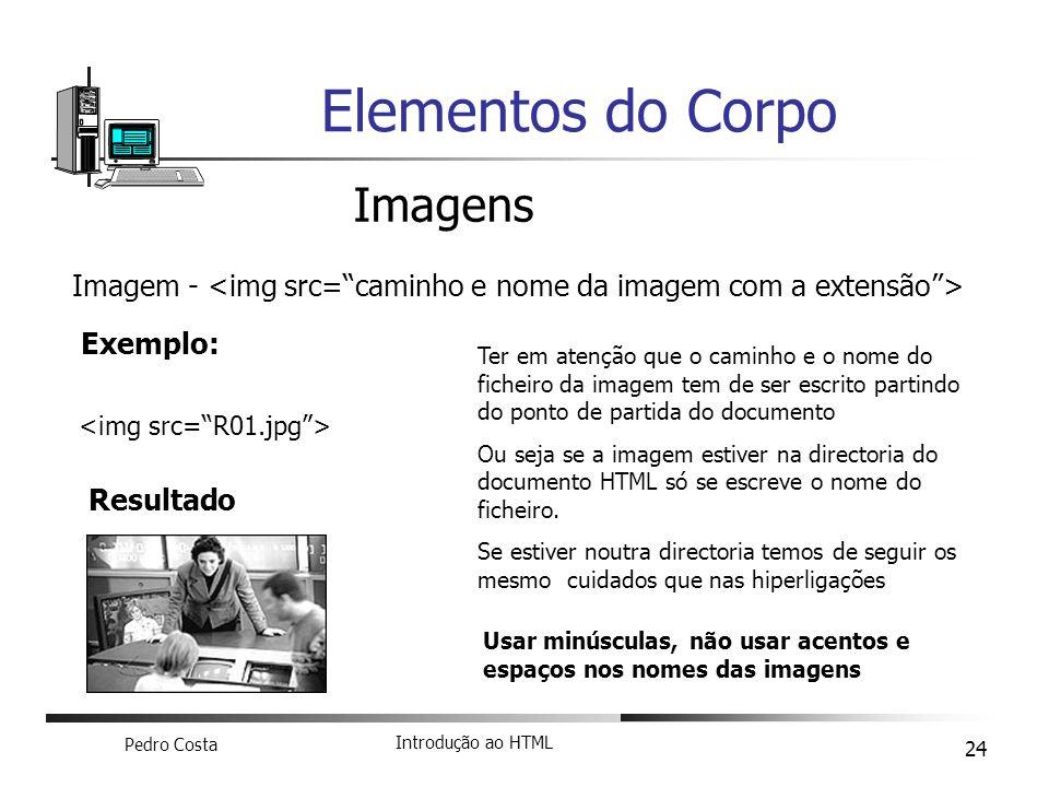 Elementos do Corpo Imagens