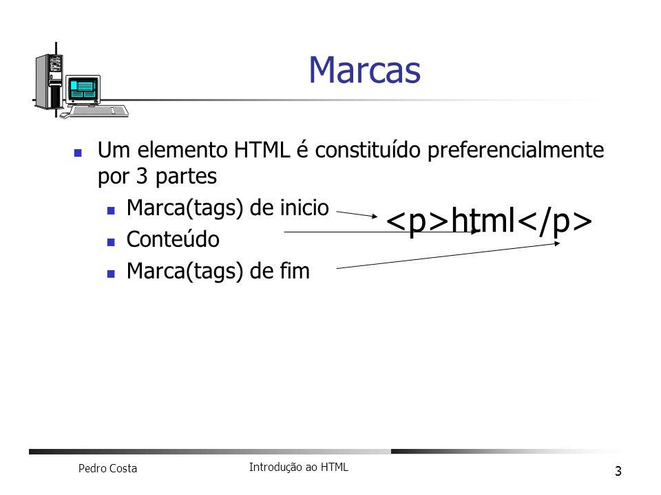 Marcas <p>html</p>