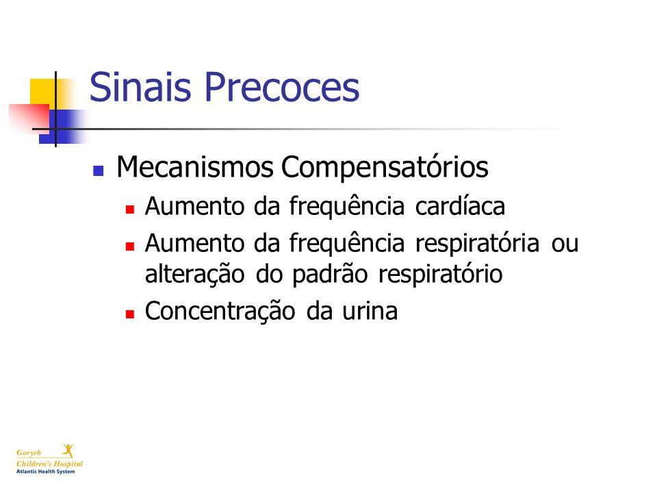Sinais Precoces Mecanismos Compensatórios