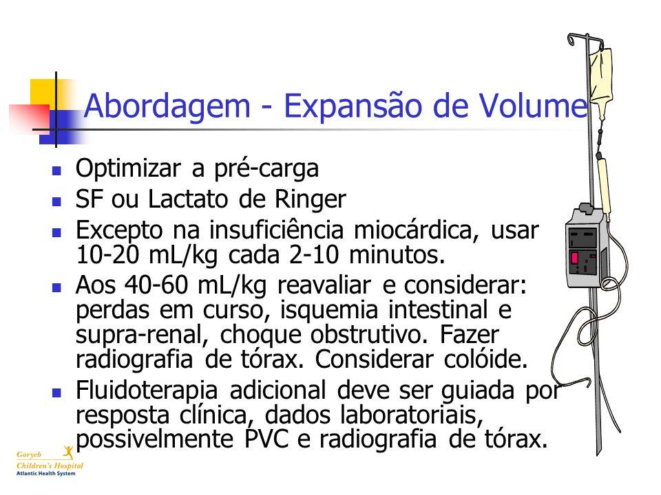 Abordagem - Expansão de Volume