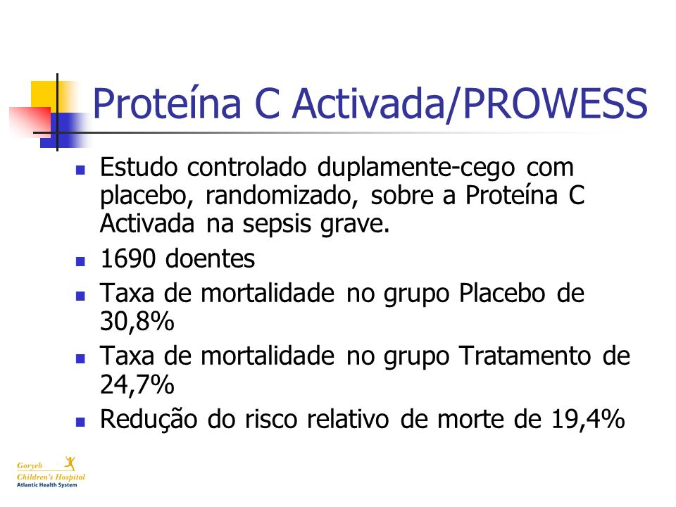 Proteína C Activada/PROWESS