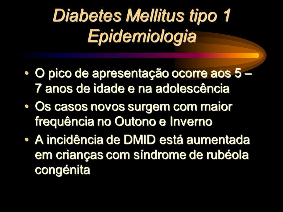 Diabetes Mellitus tipo 1 Epidemiologia
