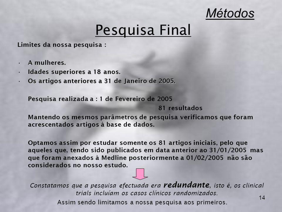 Métodos Pesquisa Final
