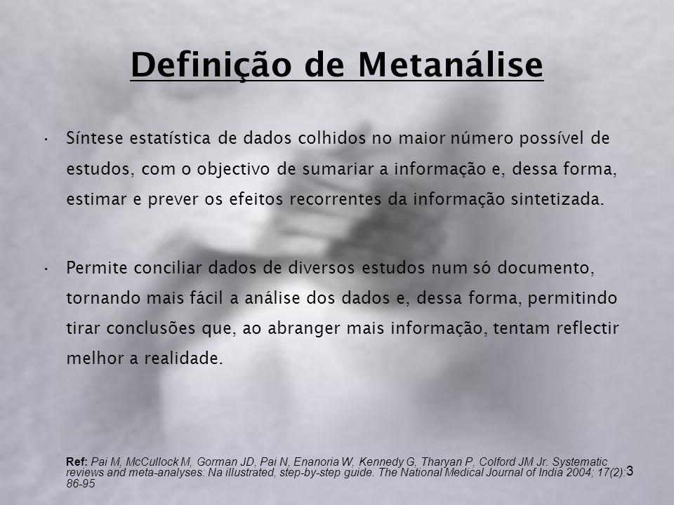 Definição de Metanálise