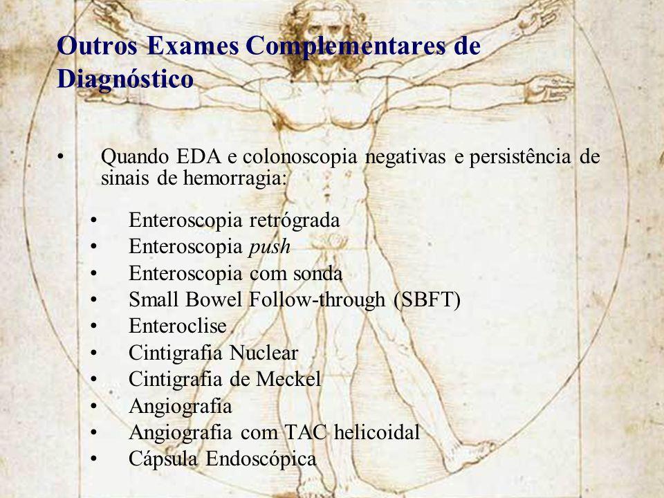 Outros Exames Complementares de Diagnóstico
