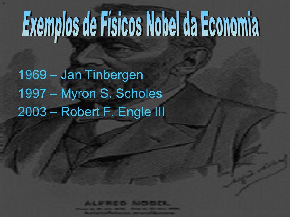 Exemplos de Físicos Nobel da Economia