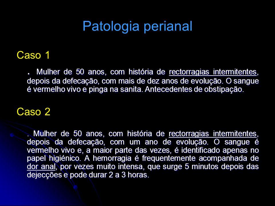 Patologia perianal Caso 1.