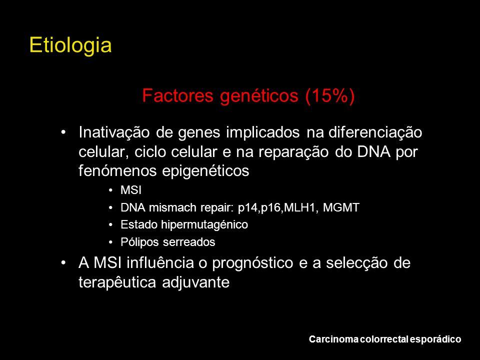 Factores genéticos (15%)