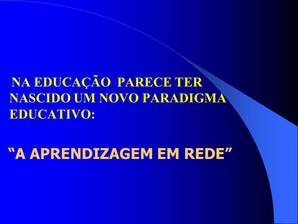 NA EDUCAÇÃO PARECE TER NASCIDO UM NOVO PARADIGMA EDUCATIVO: