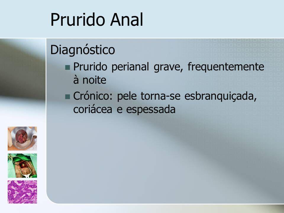 Prurido Anal Diagnóstico