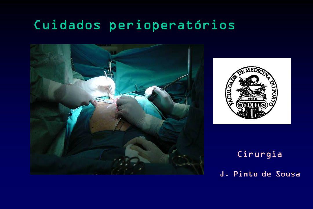Cuidados perioperatórios