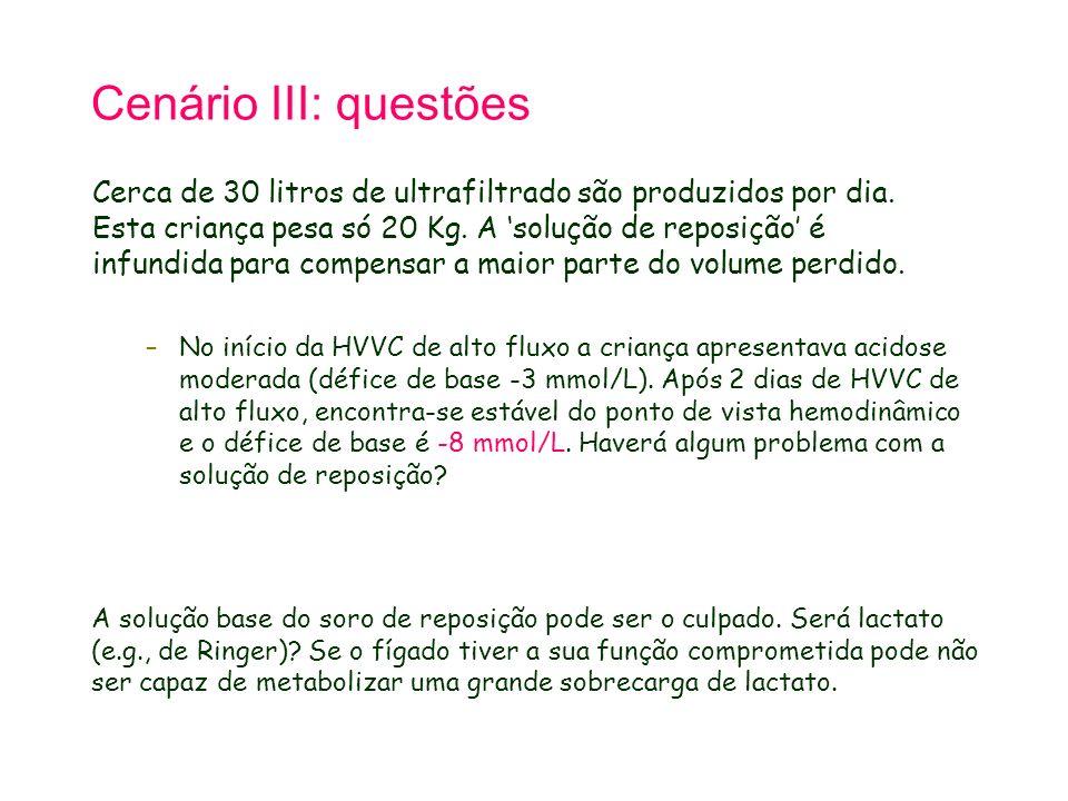 Tetralogy of Fallot 21.9.98. Cenário III: questões.