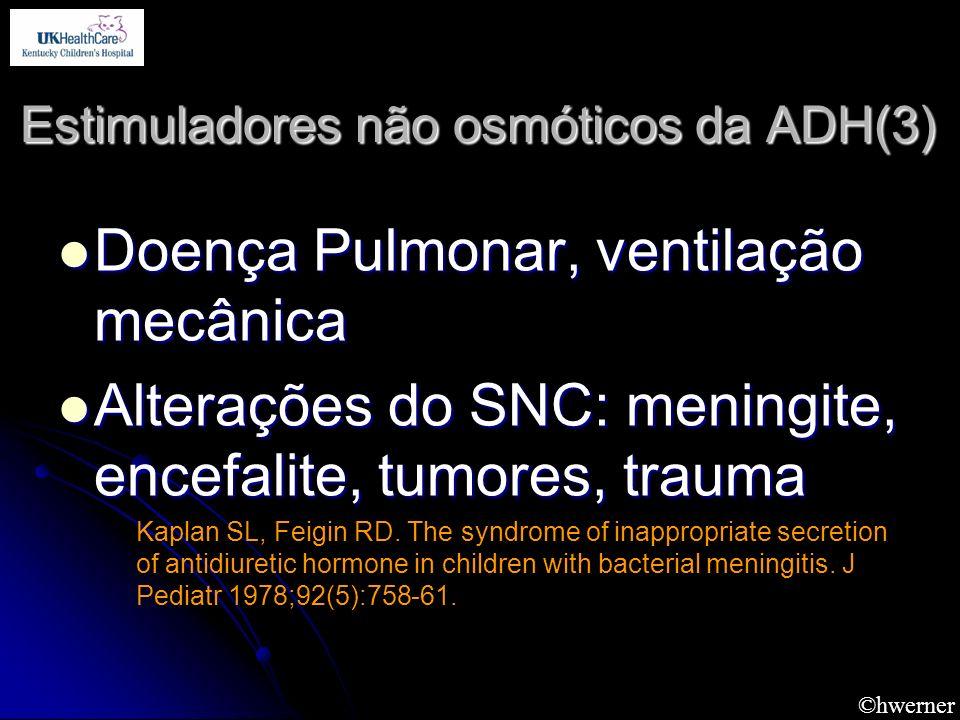 Estimuladores não osmóticos da ADH(3)
