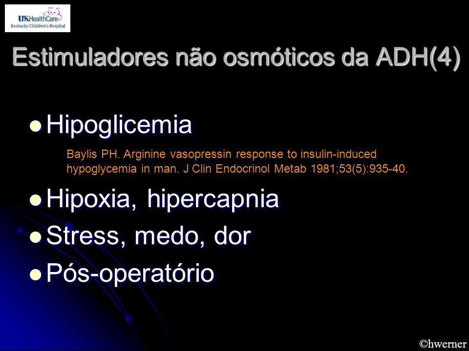 Estimuladores não osmóticos da ADH(4)