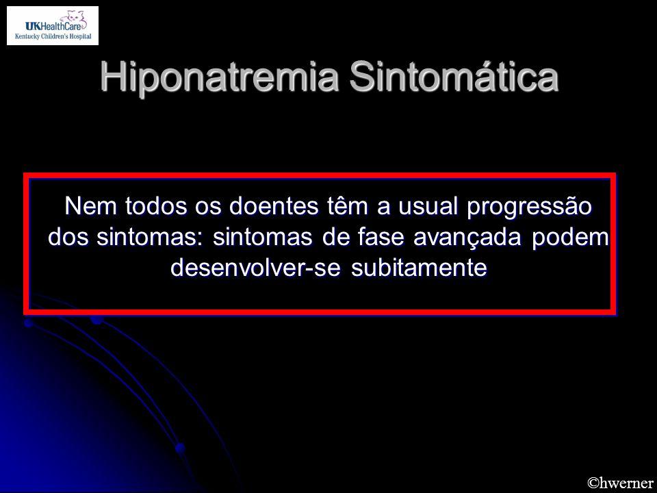 Hiponatremia Sintomática