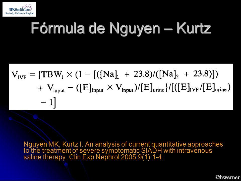 Fórmula de Nguyen – Kurtz