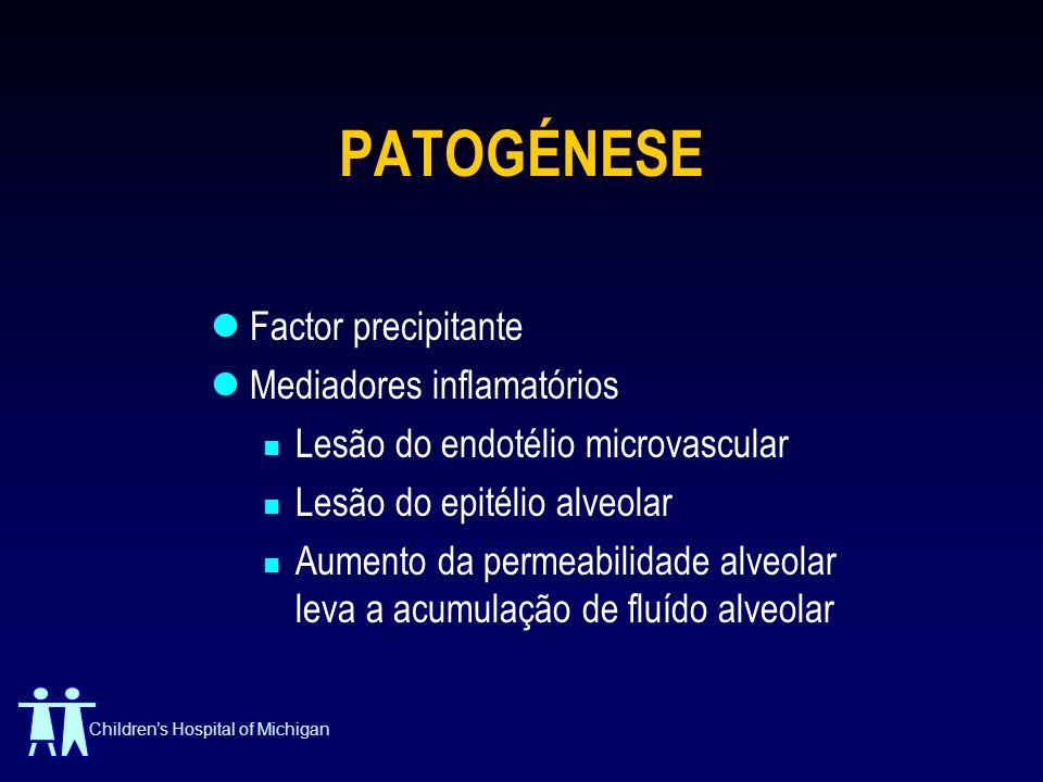 PATOGÉNESE Factor precipitante Mediadores inflamatórios
