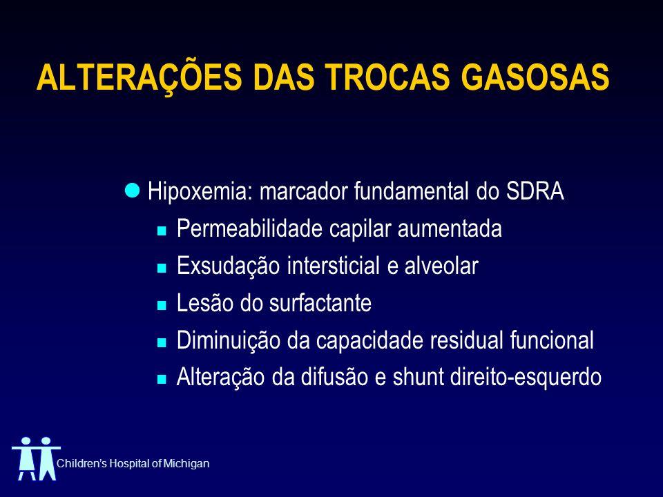 ALTERAÇÕES DAS TROCAS GASOSAS