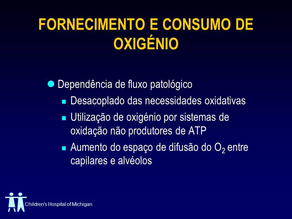 FORNECIMENTO E CONSUMO DE OXIGÉNIO