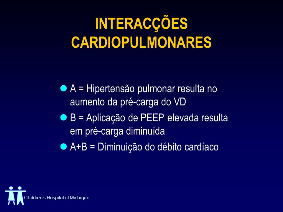 INTERACÇÕES CARDIOPULMONARES