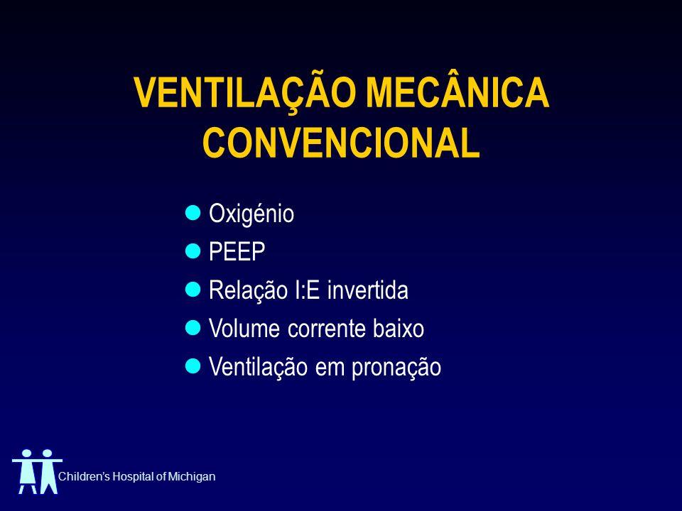 VENTILAÇÃO MECÂNICA CONVENCIONAL