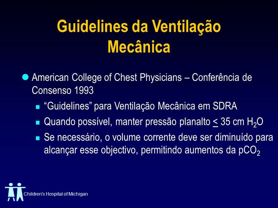 Guidelines da Ventilação Mecânica