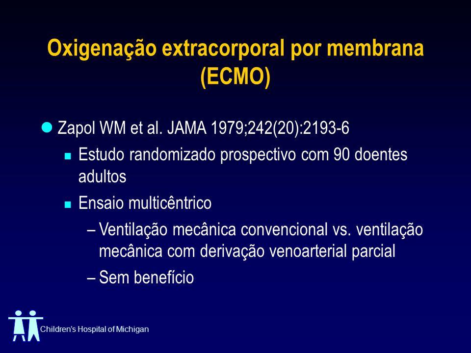 Oxigenação extracorporal por membrana (ECMO)