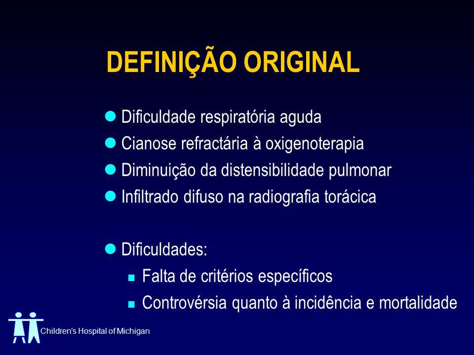 DEFINIÇÃO ORIGINAL Dificuldade respiratória aguda