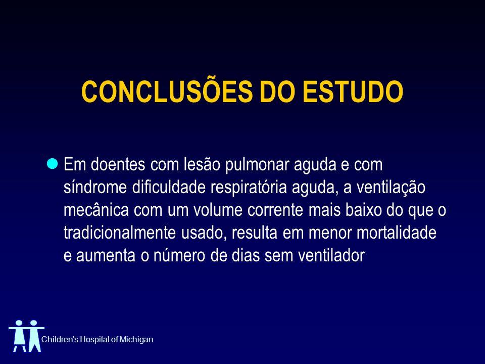 CONCLUSÕES DO ESTUDO