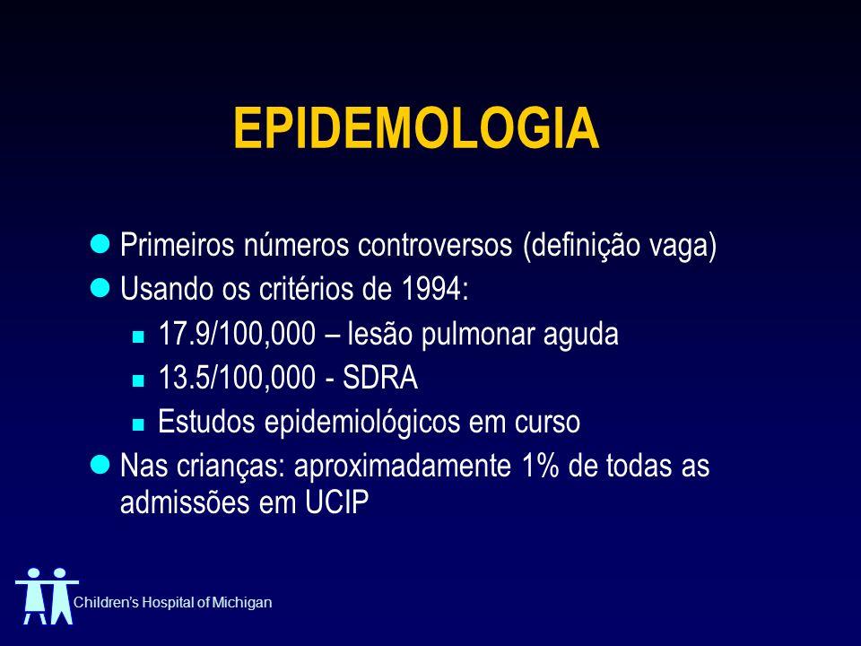 EPIDEMOLOGIA Primeiros números controversos (definição vaga)