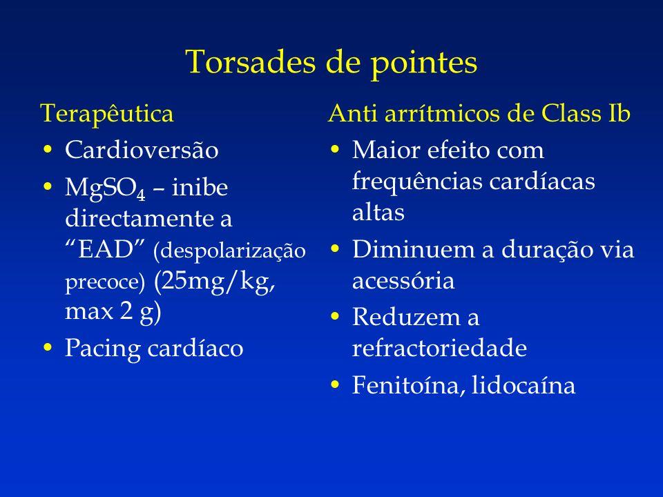 Torsades de pointes Terapêutica Cardioversão