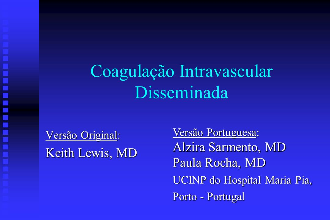 Coagulação Intravascular Disseminada